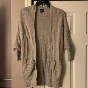 American Eagle Tan pocket Cardigan Size X Small